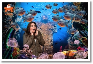 Souvenir Photo at the Malta National Aquarium