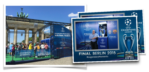 Instant Photo Solution for UEFA in Berlin 2015