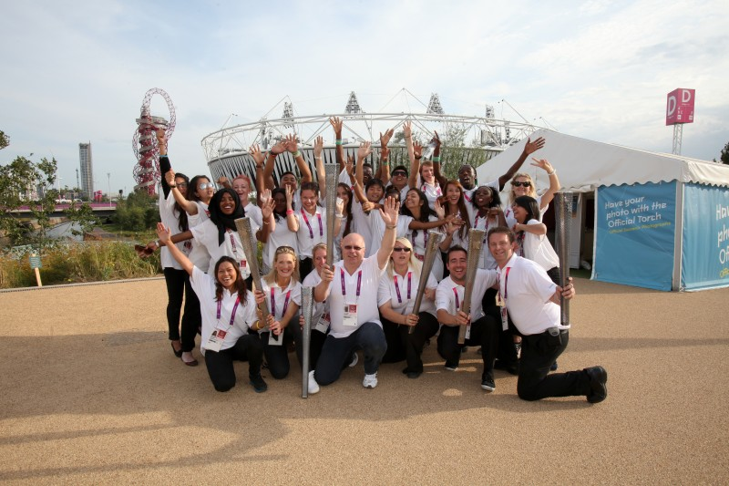 Souvenir Photo Team at the London 2012 Olympic and Paralympic Games