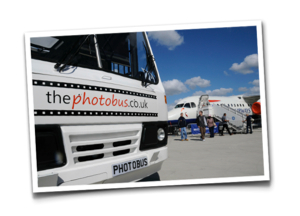 Instant Photogrphic Solutions around UK and Europe with the PhotobusMobile Instant Photos - The Photobus