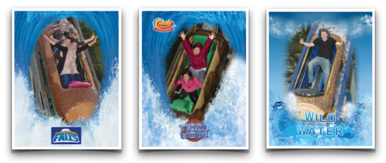 Sample Photos from a Log Flume