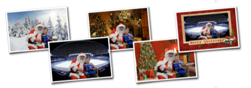 Santas Grotto Photos at Chelsea FC