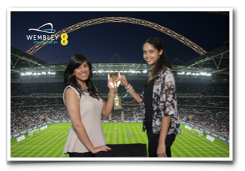 Souvenir Photo from Wembley Stadium
