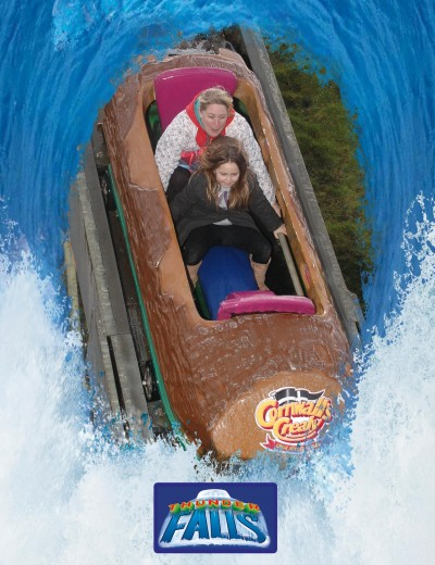 Log Flume Ride Photo