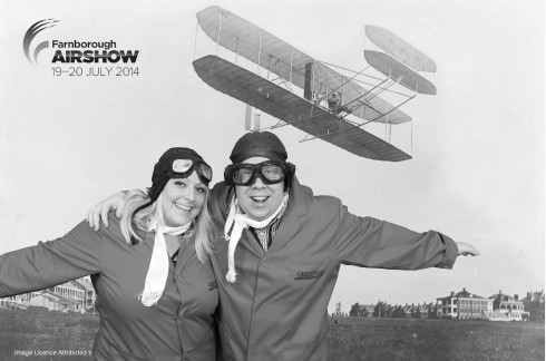 Farnborough Air Show Green Screen Photo Solution