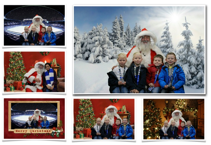 Instant Christmas Themed Photos