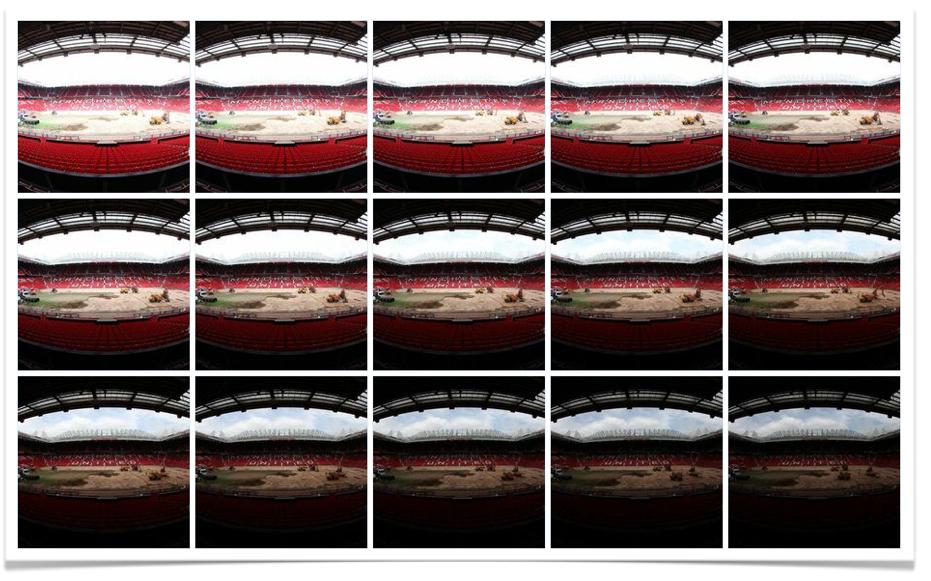 Manchester United stadiumframe