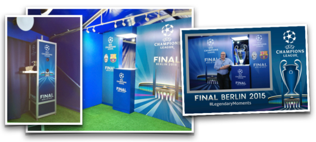 UEFA Branded Equipment and Photo