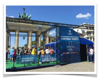 Photo Solution for EUFA in Berlin 2015