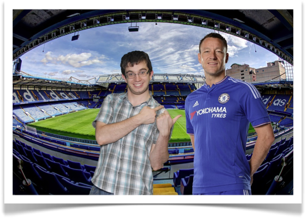 Great souvenir photography at Chelsea using our green screen technology