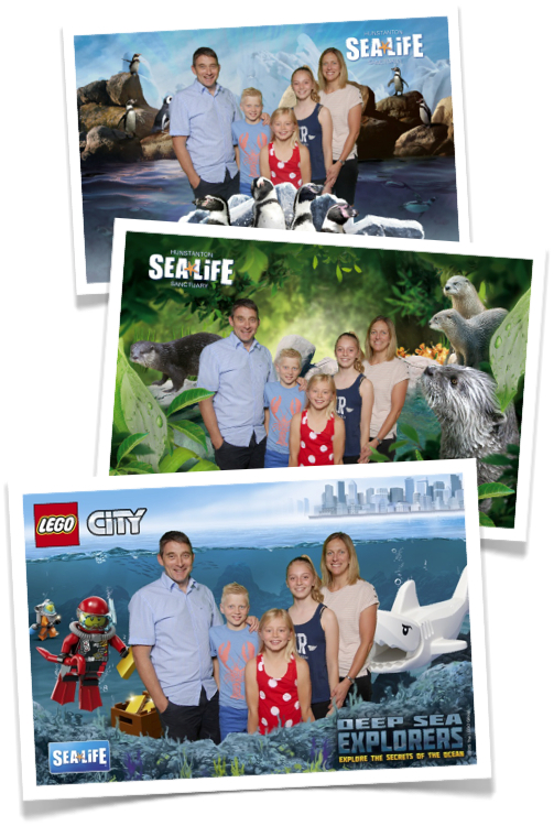 Great souvenir photos from our green screen installation at Hunstanton