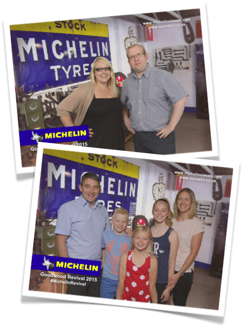 Souvenir photography solution for Michelin at Goodwood