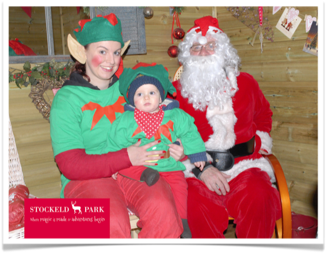 Christmas Grotto Photo Solution includes client branding