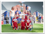 kids and trophy
