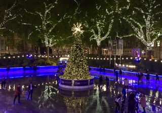 NHM Natural History Museum Ice Rink Christmas  Winter 2017