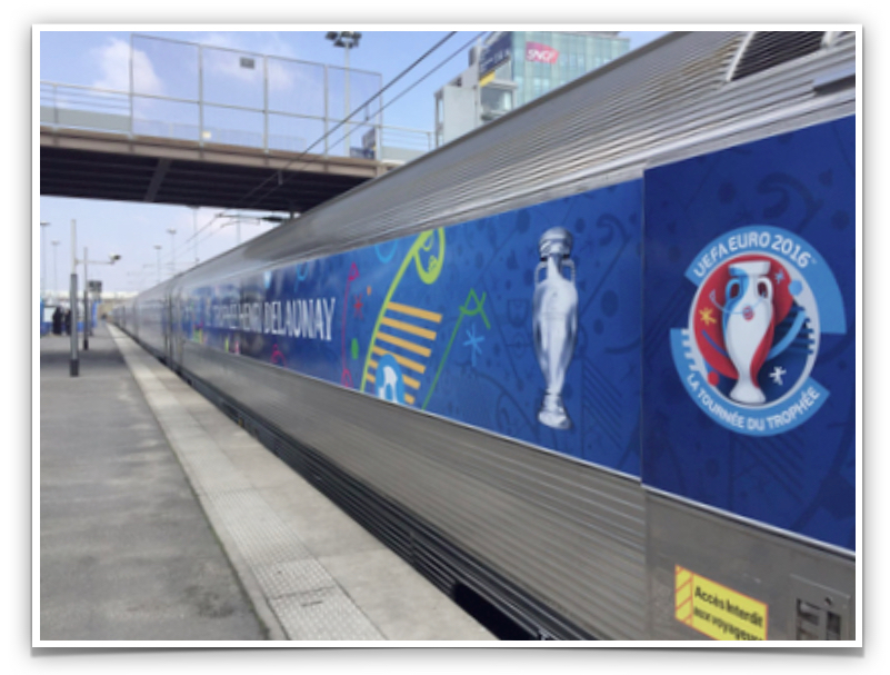 UEFA Train Photo Solution