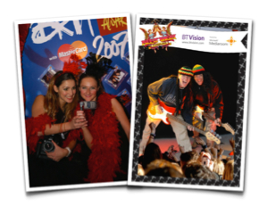 Instant Photography at Music Festivals and Outdoor Events