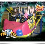 Souvenir Photography on Crealy's new Twister ride